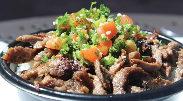 Beef Shawerma Bowl